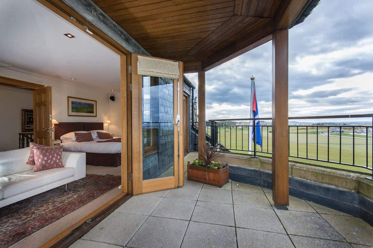 Luxury golf accommodation St Andrews